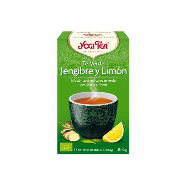 Jengibre y Limón Bio Yogi Tea