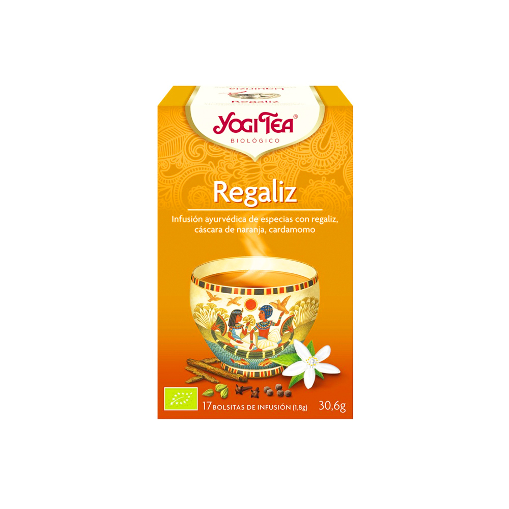 Regaliz Bio Yogi Tea