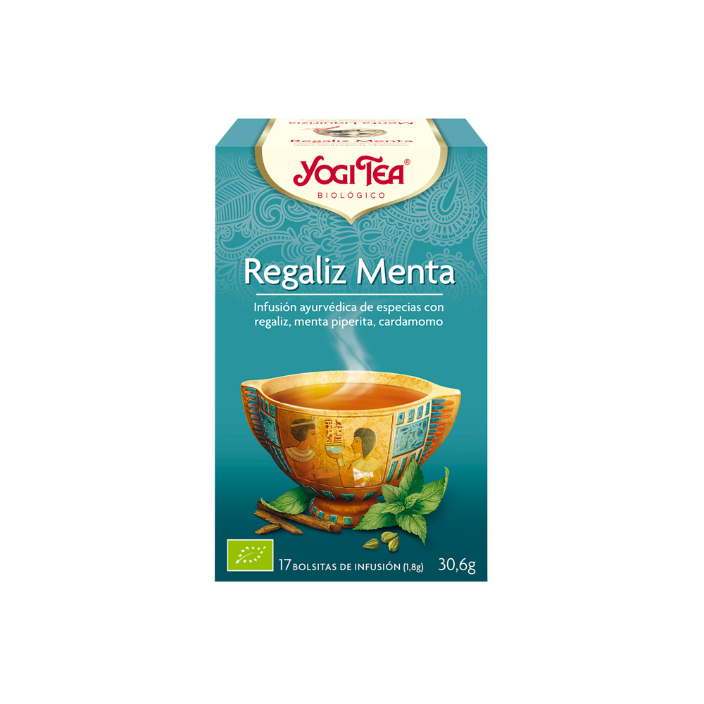 Regaliz Menta Bio Yogi Tea