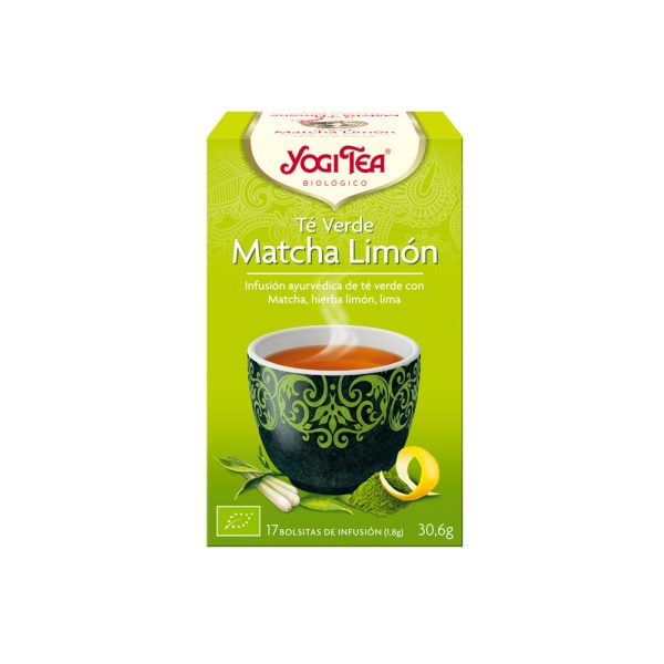Té Verde Matcha y Limón Bio Yogi Tea