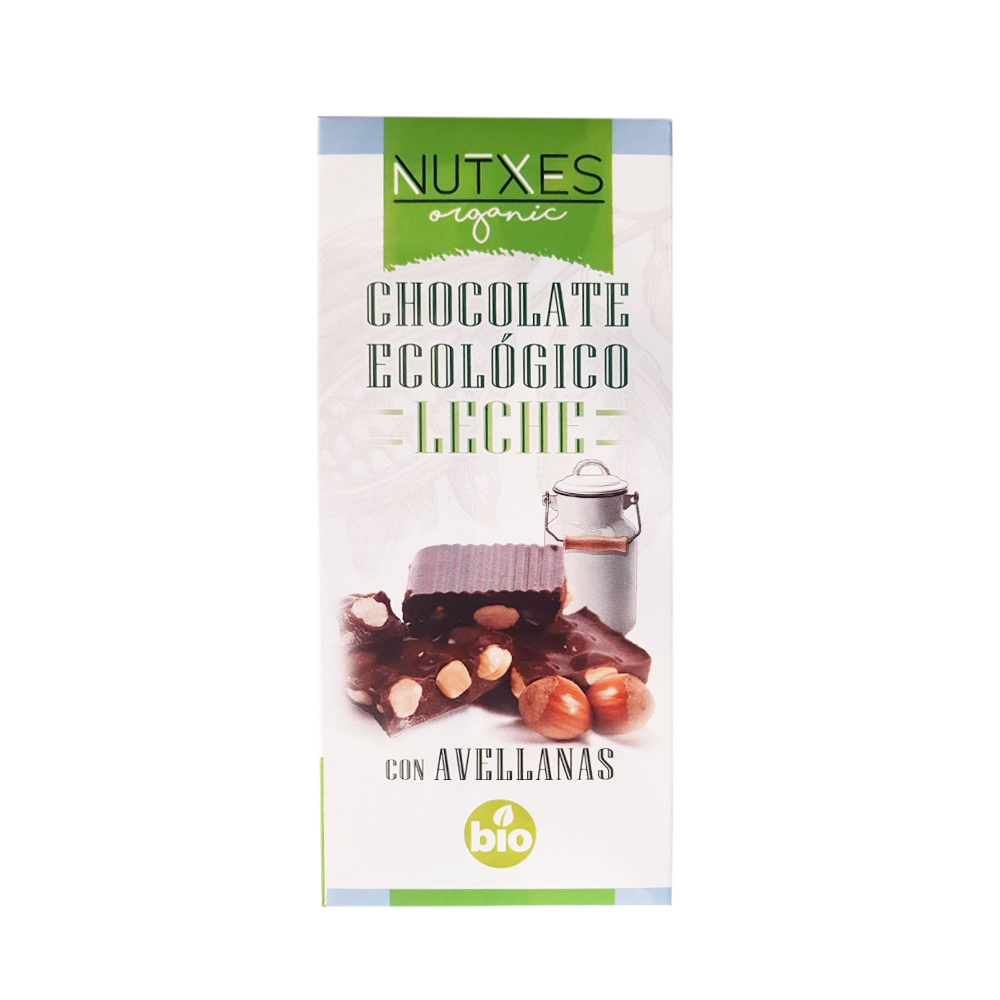 Chocolate con Leche y Avellanas Eco